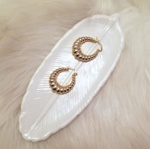 Other - White feather jewelry trinket tray